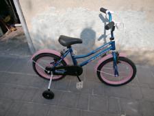 Bicicletta da bambina diametro ruota 16x175 completa di rotelle