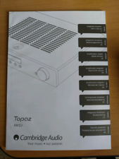 Manuale amplificatore Cambridge Audio AM10