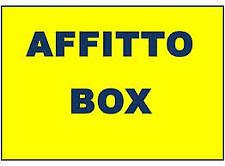 Piazza bedeschi - PRIVATO - affitta box nuovo