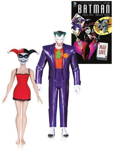Batman The Animated Series Action Figure 2-Pack The Joker Harley Quin 2