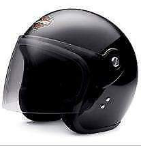 Casco Jet Harley Davidson Youth Bar '38 Shield 3/4