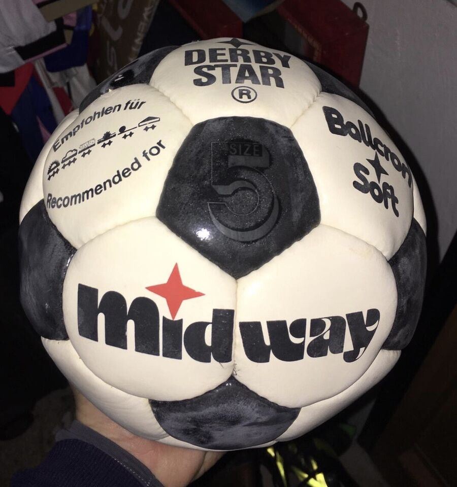 Pallone Derby Star Midway