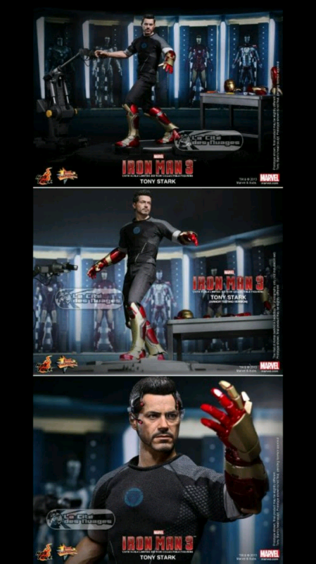 Hot toys iron man tony stark