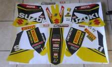 Kit adesivi grafiche suzuki rm 125 250 2005 replica team world mxgp 20