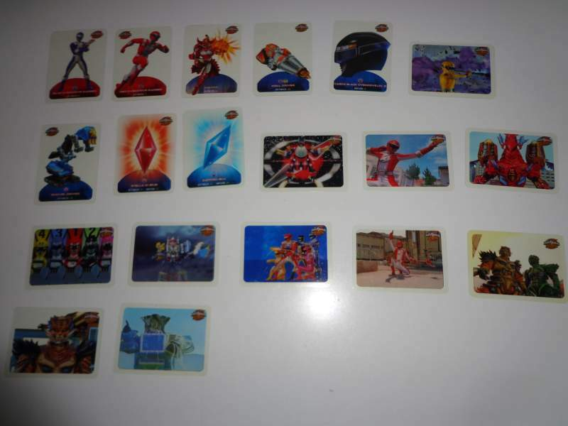 Lamincards Power Rangers Operation Overdrive