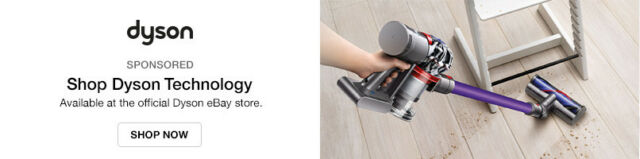 Available at the official Dyson eBay Store