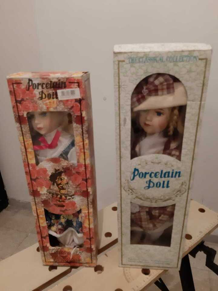 Porcelain doll Bambola di porcellana 2
