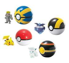 Pokemon Clip'n'Carry Pok' Ball Wave D13 Assortment (6)