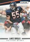 Rookie Lance Briggs Football Trading Cards & Stickers