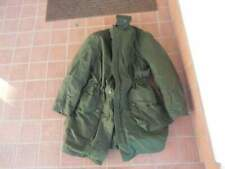 swedish army o.g. winter jacket w/thermal liner 52 size