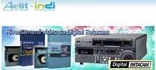Riversamenti Betacam, HI8, DVCam, MiniDV...