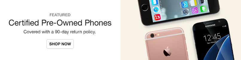 Certified Pre-Owned Phones