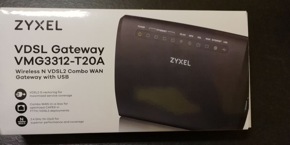 Router Wireless Zyxel VMG3312-T20A
