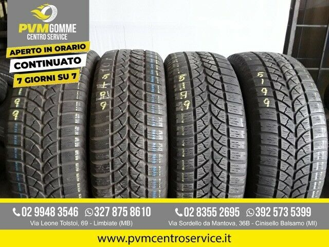 Gomme usate:225 60 17 99h invernali