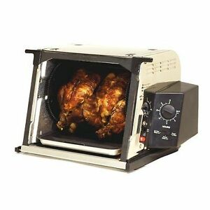 how to use a rotisserie oven