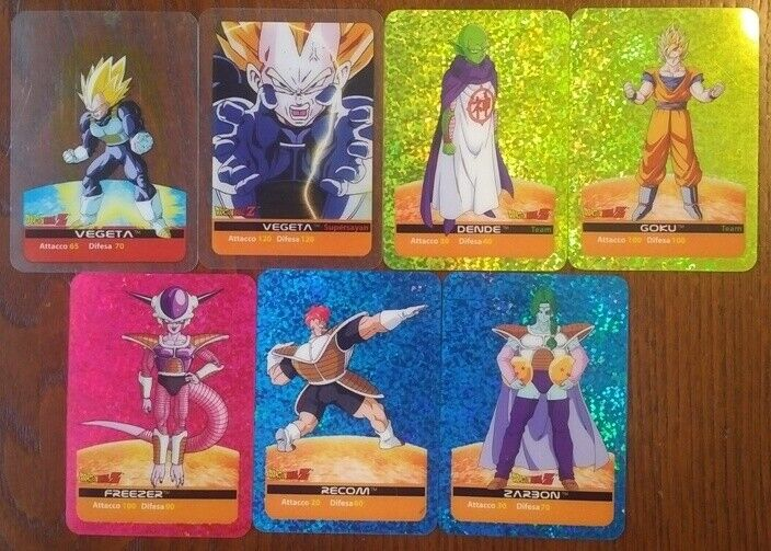 Carte Dragon Ball Z