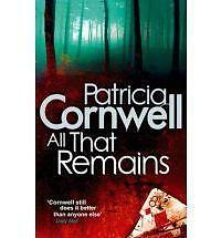 All That Remains by Patricia Cornwell (Paperback, 2010) New Book