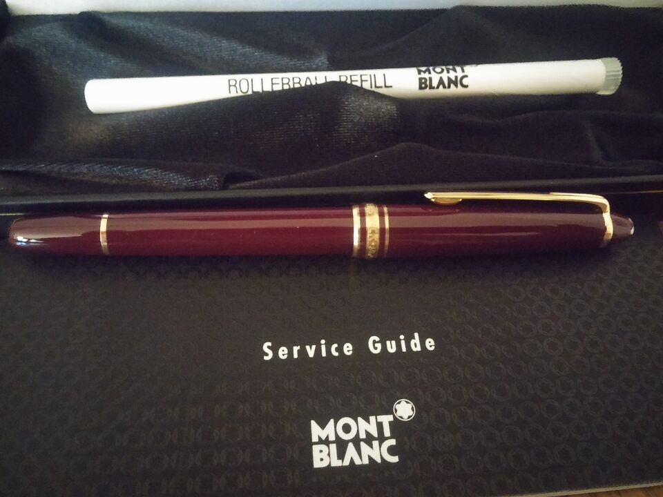 Penna Montblanc Roller Meisterstück Red Gold-Coated Classique