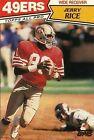 Beckett (BGS) Jerry Rice Single Football Trading Cards