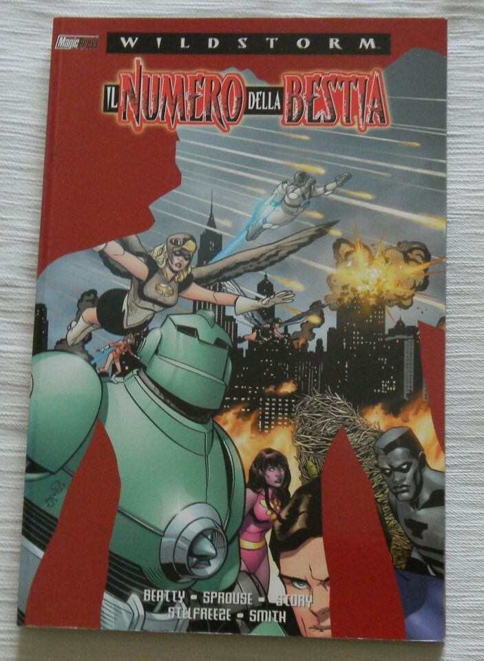 Wildstorm Il Numero della Bestia Magic Press