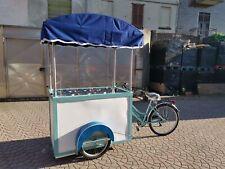 Cargo bike gelateria carretto promo