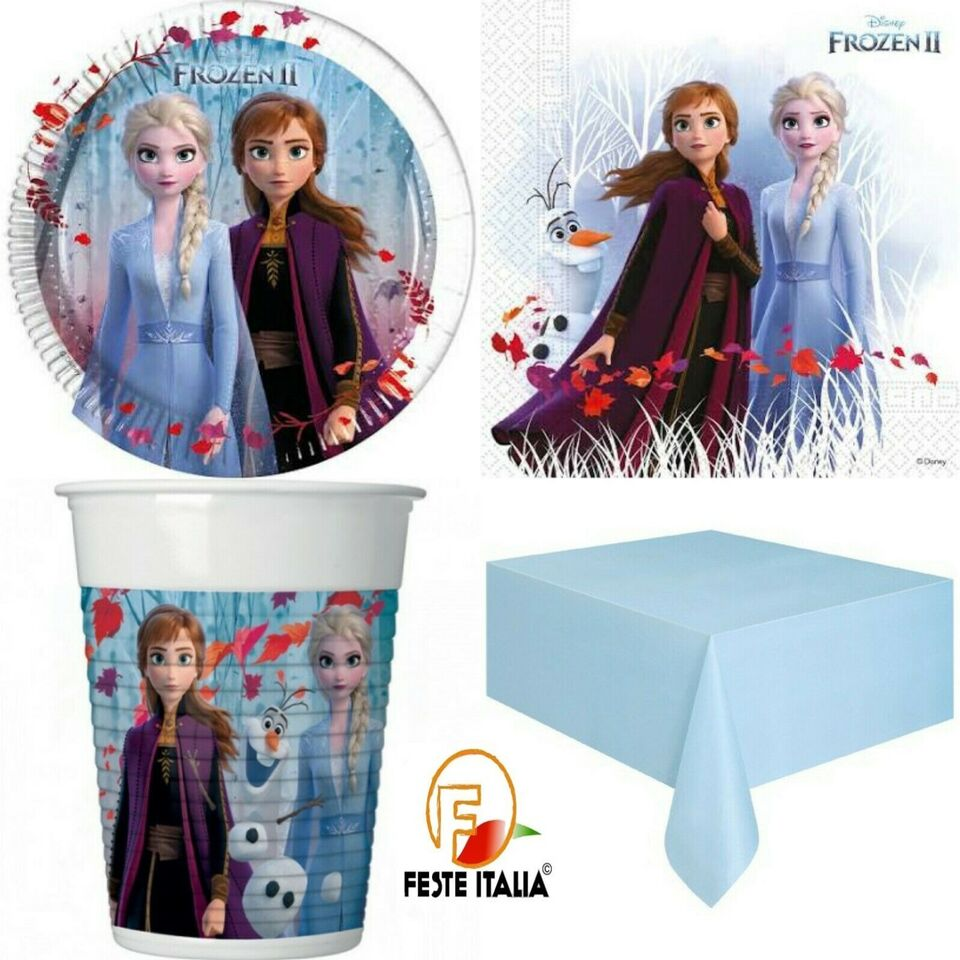 Kit Party a tema frozen 8 persone