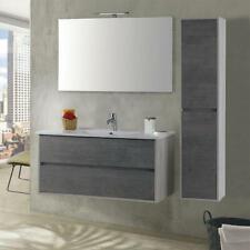 Mobile Da Bagno Sospeso 70cm Colonna P18cm Mazzoni Maiorca Plus Bianco
