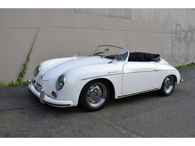 1957 porsche 356 speedster recreation like new ivory. Black Bedroom Furniture Sets. Home Design Ideas