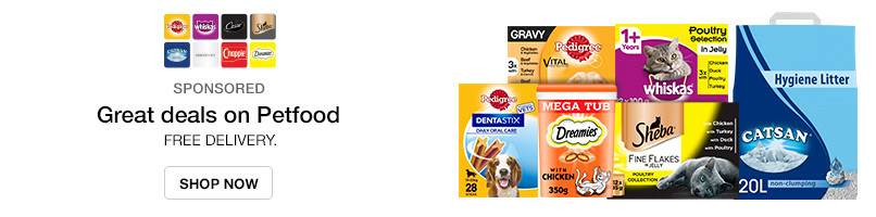 Great Deals on Pet Food