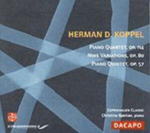 Klavierquartett/Klavierquintet von Copenhagen Classic,Björköe (2006)