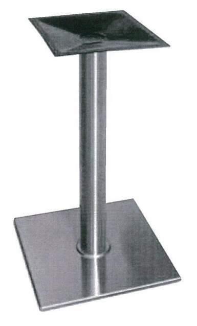 Base in ferro ghisa per piano tavolo max 80x80