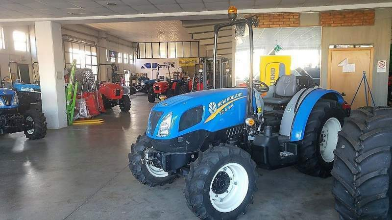 Trattore new holland td 4.80 f nuovo 3