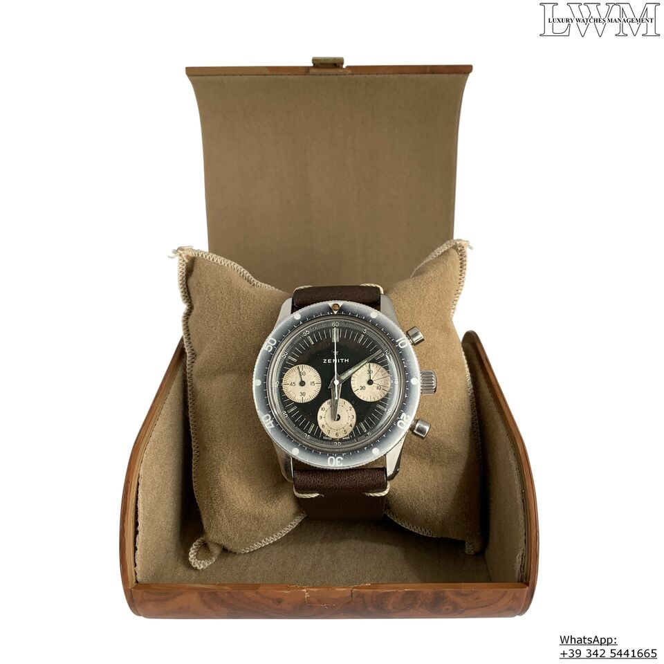 ZENITH Chronograph A277 Sub Sea Diver first series Ghost 1960 8