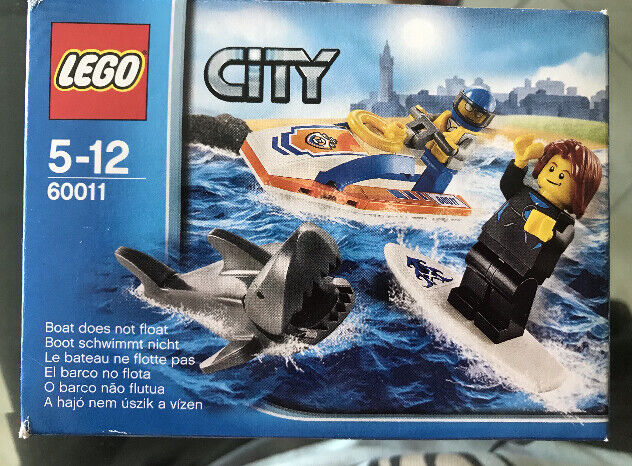Lego city 60011 rescue surfer