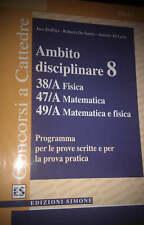 Vendo libro per concorsi a cattedra di matematica e fisica