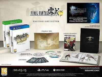 Final Fantasy: Type - 0 Collector 's Edition PS4