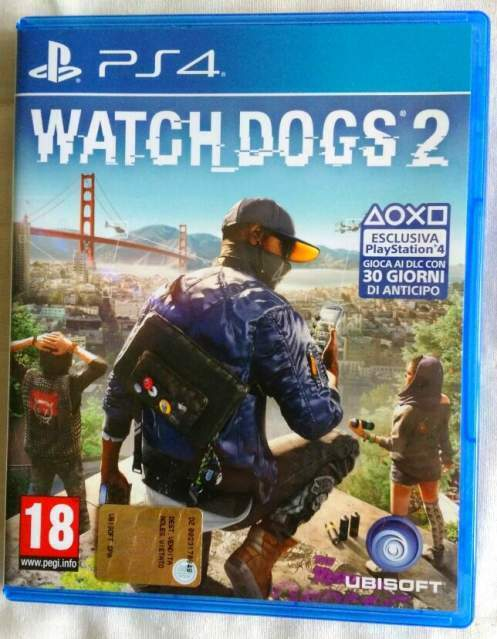 Watch Dogs 2 Playstation