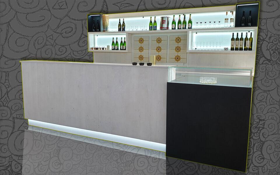 Banco bar completo refrigerato usati/fiera...