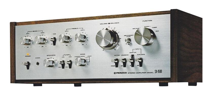 Vintage Hi Fi Amplifier
