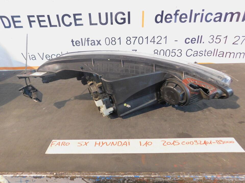 Faro fanale anteriore sinistro hyundai i10 92101-b9000 2015> 4
