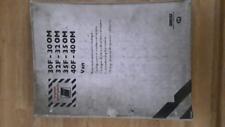 Catalogo manuale ricambi epoca per fiat om 30-32-35-40 fiat om