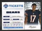 Panini Refractor Chicago Bears Football Trading Cards