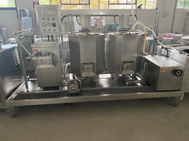 Complete industrial line for gelato industry used 4