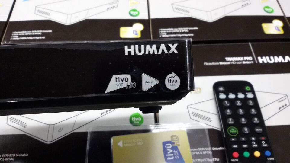 New decoder tivusat 2 humax 2021 2