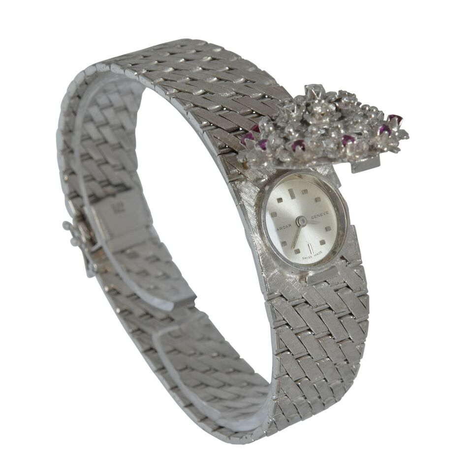 SARCAR GENEVE Lady watch gold rubies and diamond's Full Set 3