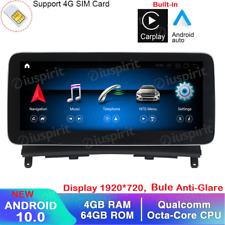 ANDROID navigatore Mercedes Classe C W204 NTG 4.0 Bluetooth