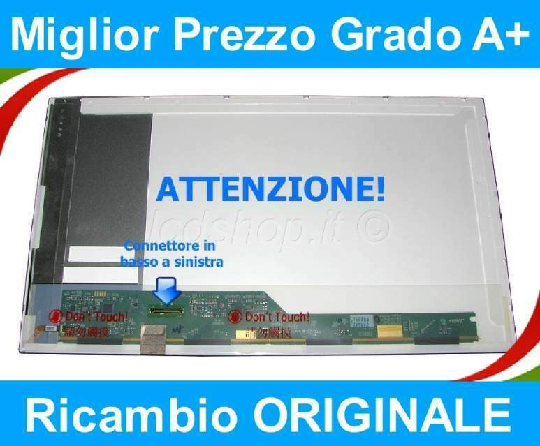 """Packard Bell Easynote Lj75 Lcd Display Schermo Originale 17.3"""" Hd+ Led"""
