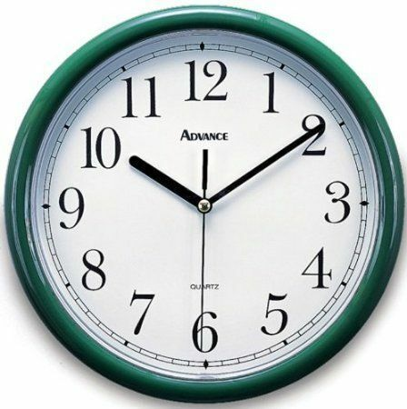 Wonderful Measuring 10 X 1.75 X 12 Inches, The Geneva Clock Company Advance 08104 Is  An Analog Wall Clock That Features Quartz Accuracy. The Geneva Advance  08104 ...