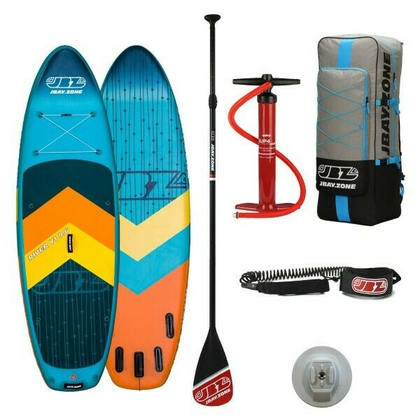 Stand Up Paddle SUP Gonfiabile JBAY.ZONE RIVER Y1 Cm 290x89x15