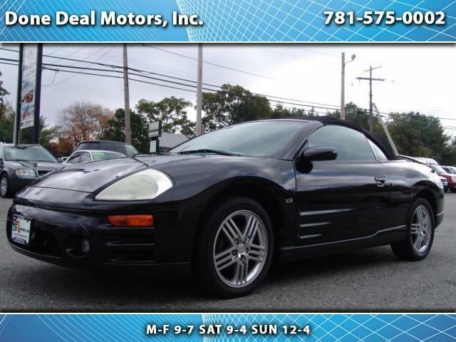 2003 mitsubishi eclipse gts spider with 108000 miles manual transmission full used mitsubishi. Black Bedroom Furniture Sets. Home Design Ideas